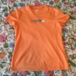 Adidas Orange Athletic Shirt